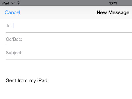 Sent From My iPad